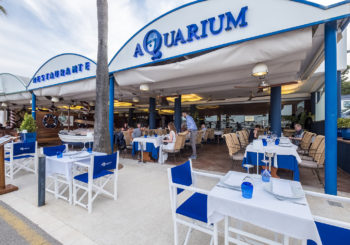 Restaurante Aquarium, la referencia de Lago Resort Menorca